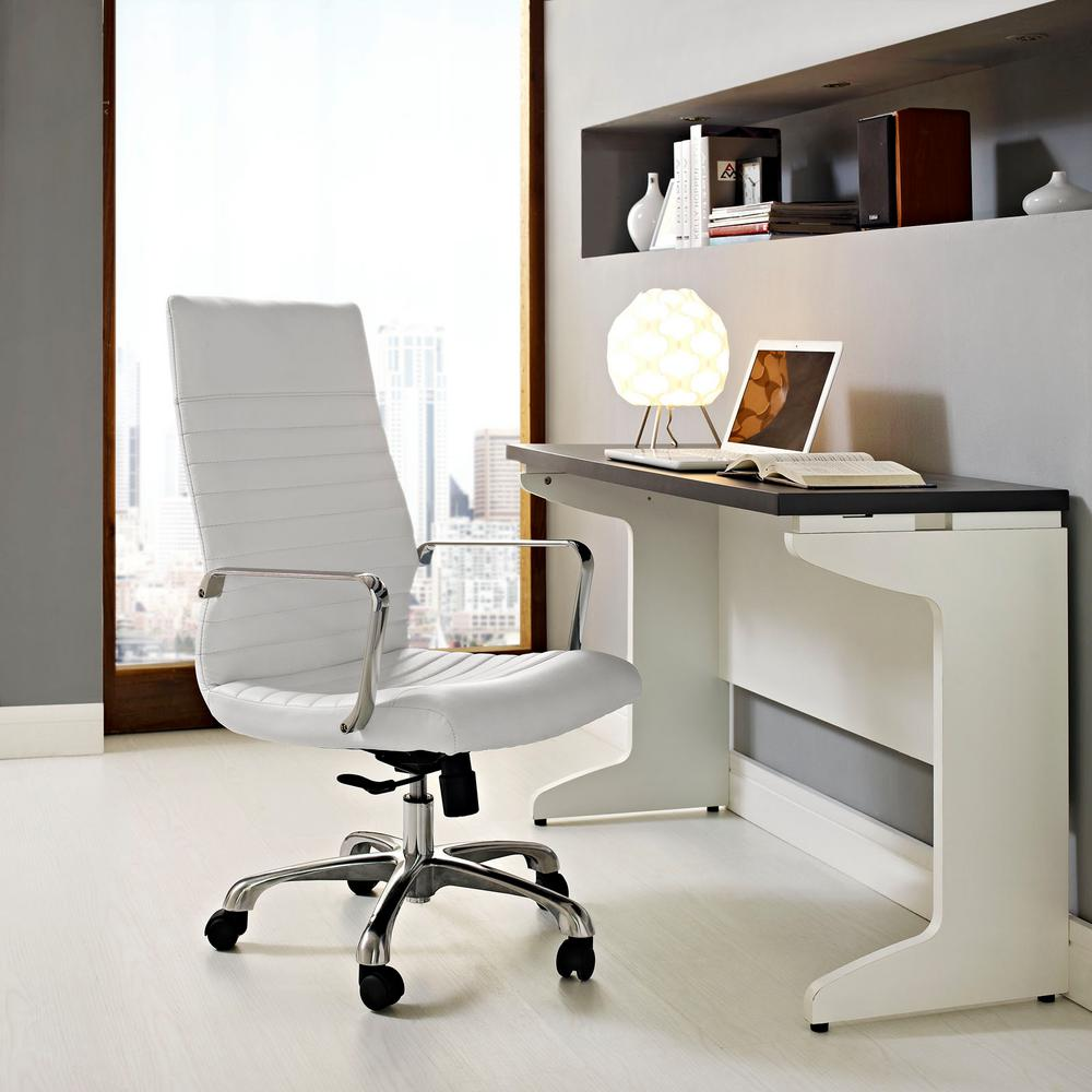 Finesse Highback Office Chair in White