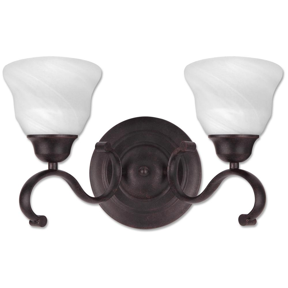 Beldi Oregon 2 Light Antique Black Bath