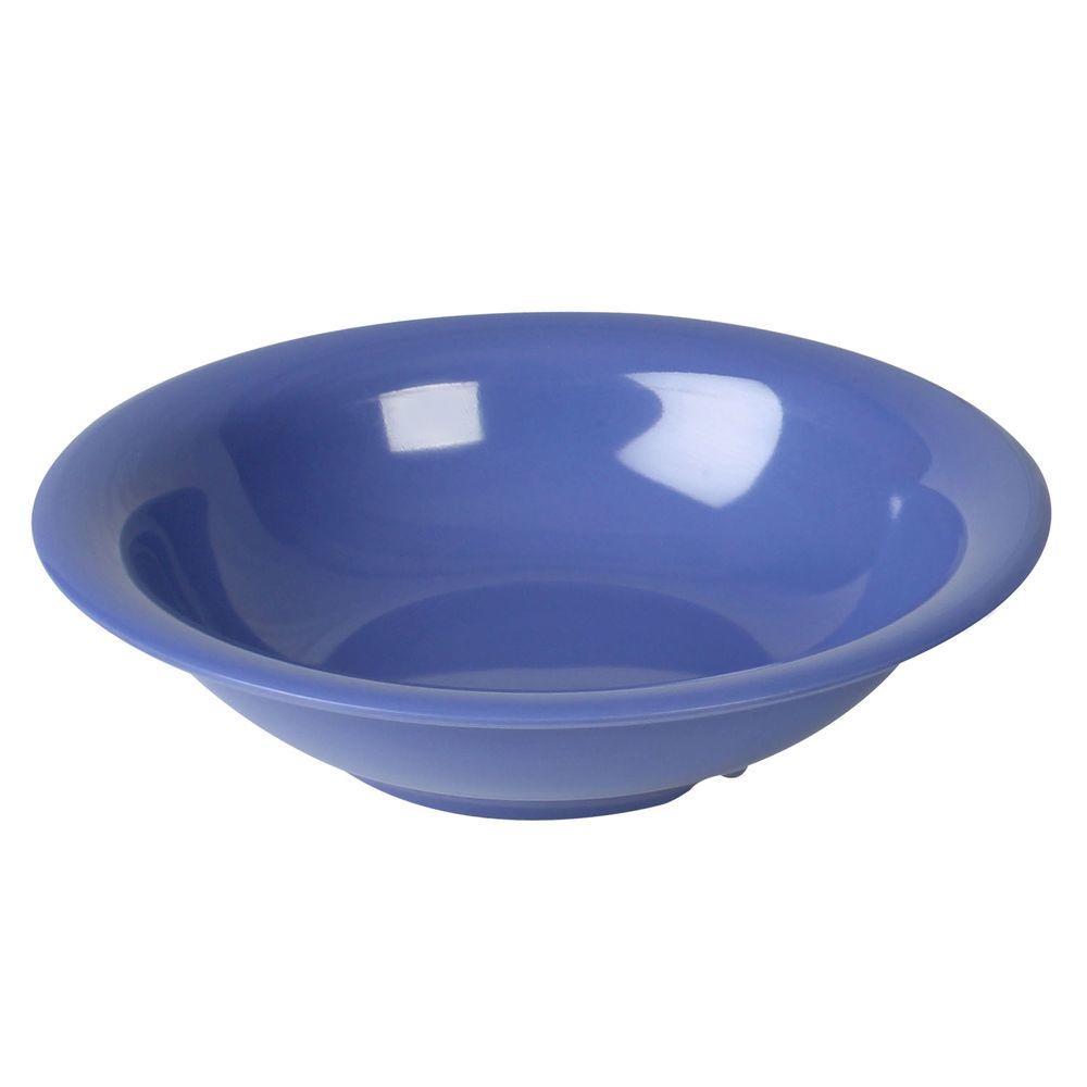 Coleur 19 oz., 7-1/2 in. Soup Bowl in Purple (12-Piece)