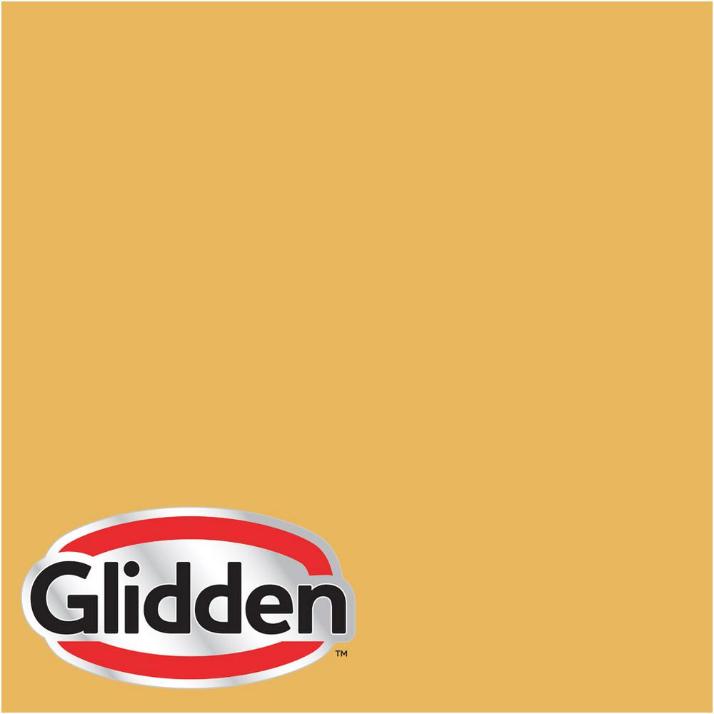 Glidden Premium 5 Gal Hdgy27 Wheat Stalk Satin Interior Paint With Primer Hdgy27p 05san The Home Depot