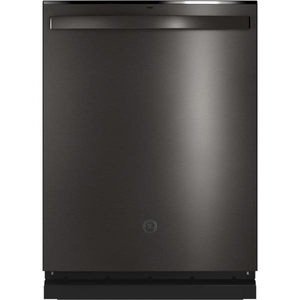 Top Control Tall Tub Dishwasher in Black Stainless Steel with Stainless Steel Tub and Steam Prewash, 46 dBA