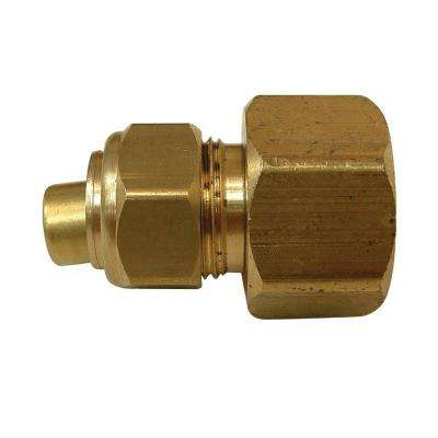 1/4 in. x 1/8 in. FIP Lead-Free Compression Coupling