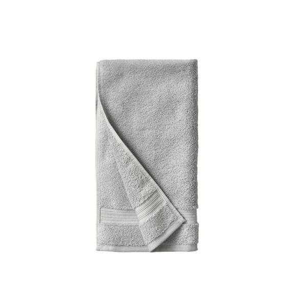 Home Decorators Collection Egyptian Cotton Hand Towel in Shadow Gray