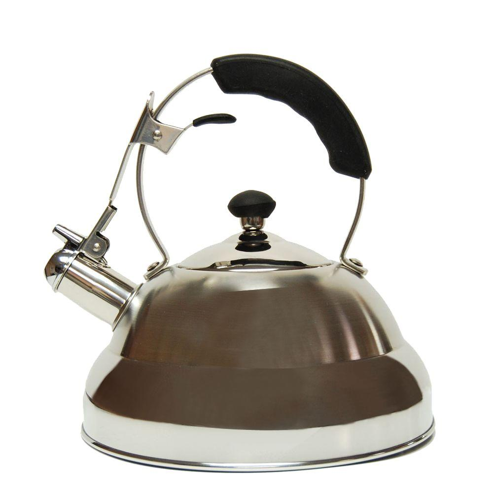 Saturn 11.2-Cup Stovetop Tea Kettle in Silver