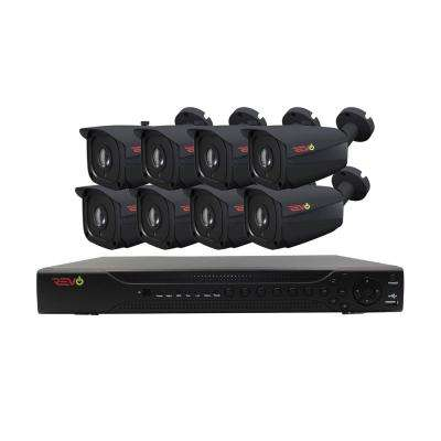 Aero HD 16-Channel 5MP 2TB Surveillance System with 8 Wired Cameras