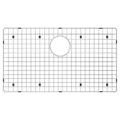 17 in. x 30 in. Sink Bottom Grid for Select Dcor Star Sinks in Stainless Steel