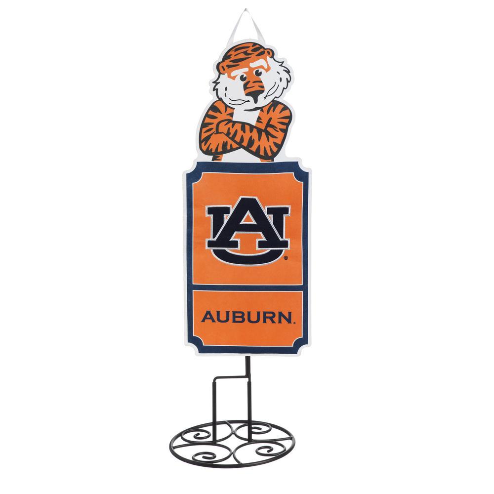1-1/10 ft. x 3 ft.  Auburn University Statement Stake
