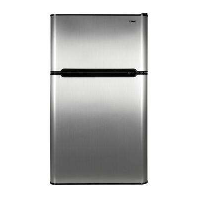 3.2 cu. ft. Mini Refrigerator in Virtual Steel