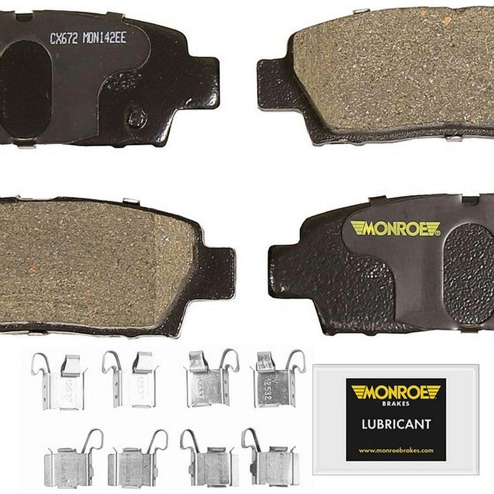 1999 Toyota Camry Brake Pads: Monroe Brakes Total Solution Ceramic Brake Pads 1995-1999