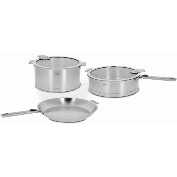 Strate 7-Piece Stainless Cookware Set with Lids