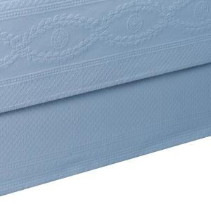 Williamsburg Abby Blue Twin Bed Skirt