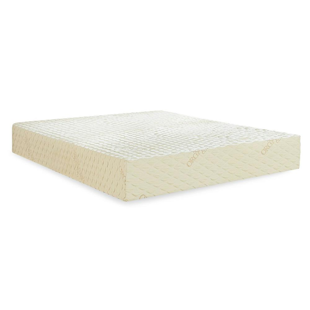PlushBeds Natural Bliss Twin 8 in. Medium Latex Mattress
