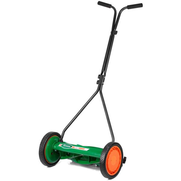 Scott's 16 in. Manual Walk Behind Push Reel Lawn Mower