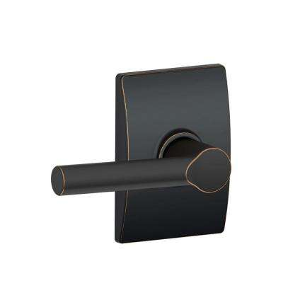 Broadway Aged Bronze Passage Hall/Closet Door Lever with Century Trim
