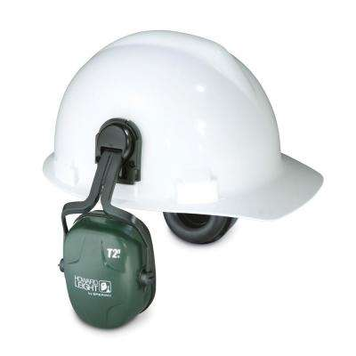 Thunder T2H Noise Blocking Cap-Mounted Earmuffs with 13910039 Cap-Mount Adapter