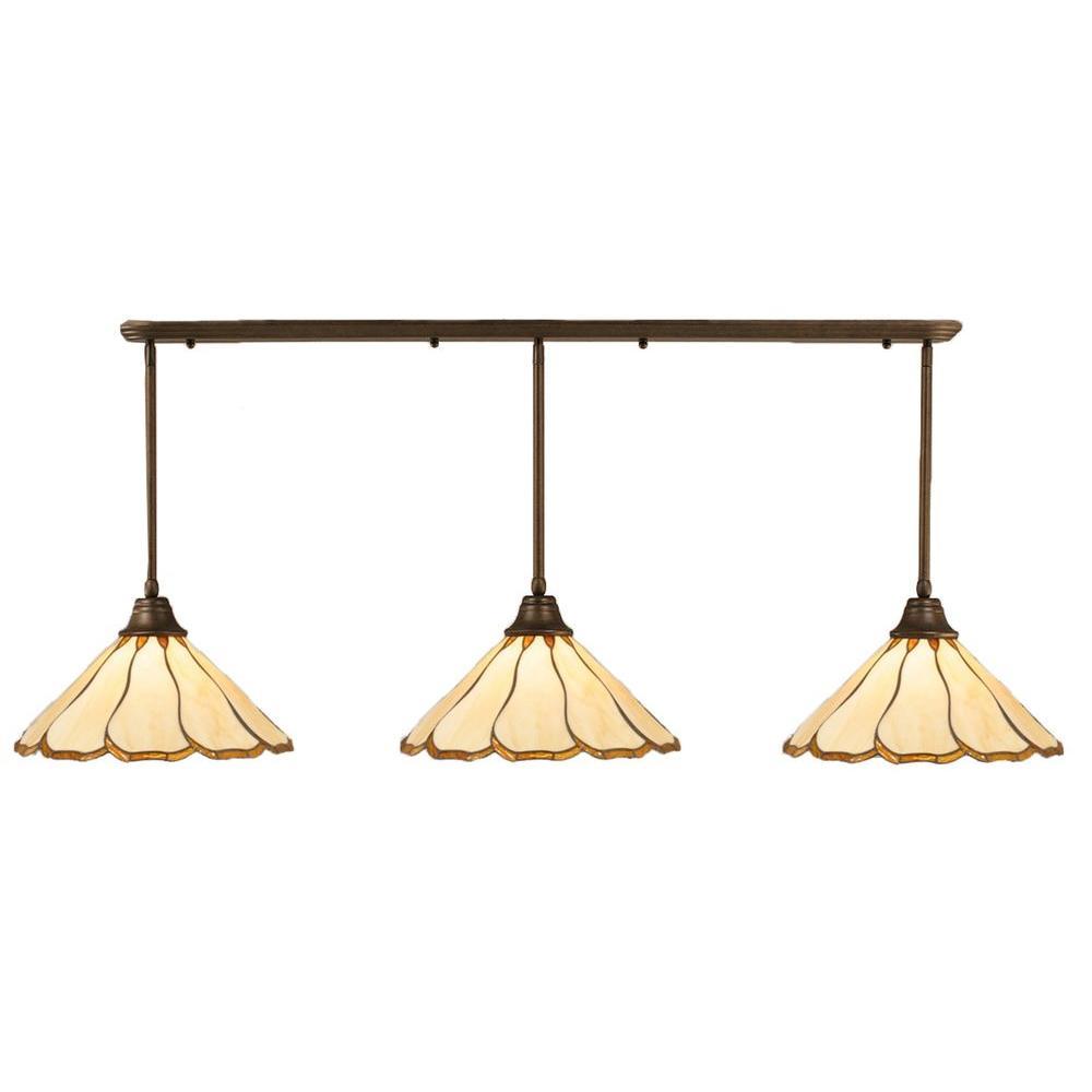 Filament Design Concord 1-Light Brushed Nickel Incandescent Ceiling Pendant
