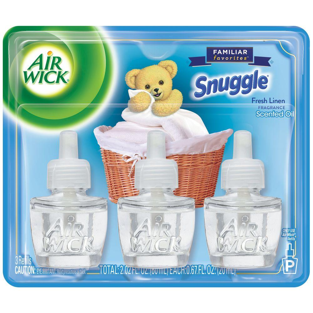 Familiar Favorites 0.67 oz. Snuggle Scented Oil Refill (3-Pack)