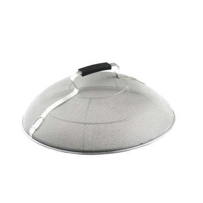 13 in. Round Stainless Steel Dome Splatter Screen