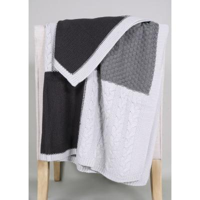 Allied Home Multi Knit Sweater Throw Dt001110a The Home Depot