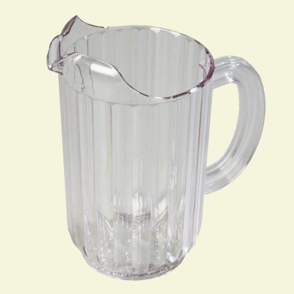 Carlisle 48 oz., 7.67 in. High Polycarbonate Clear Pitcher (Case of