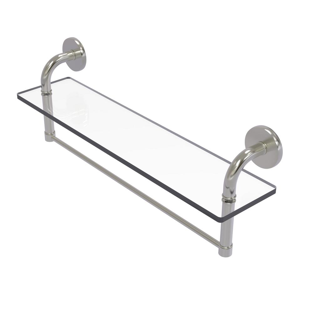 Allied Brass Remi Collection 22 in. Glass Vanity Shelf with ...