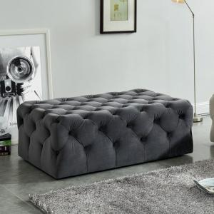Cool Ashley Gray Button Tufted Ottoman Onthecornerstone Fun Painted Chair Ideas Images Onthecornerstoneorg