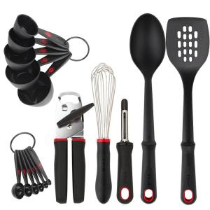 T-fal 16-Piece Comfort Tool and Gadget Set in Stainless ...