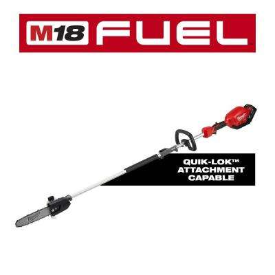 M18 FUEL 18-Volt Lithium-Ion Brushless Cordless 10 in. Pole Saw Kit with Attachment Capability and 9.0 Ah Battery