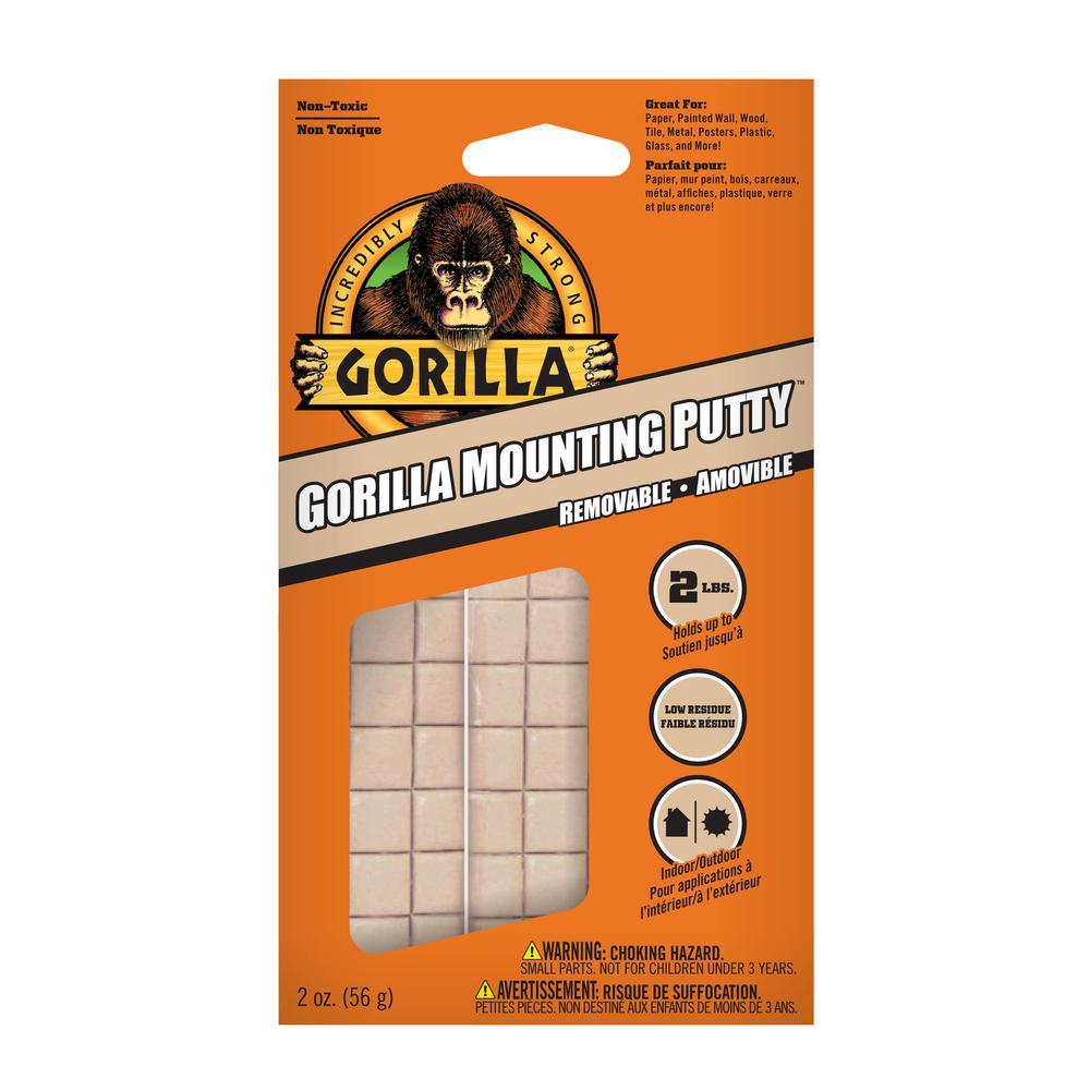Gorilla 2 oz. Mounting Putty