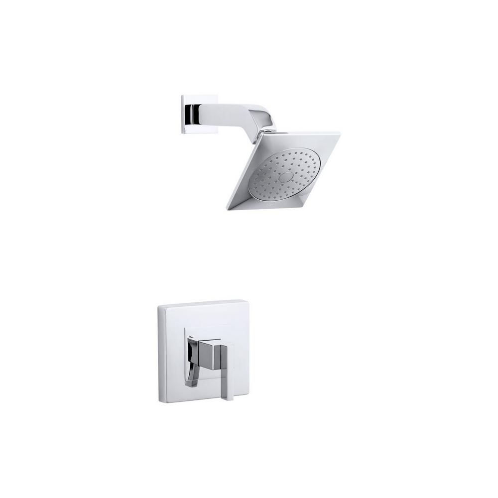 Captivating KOHLER Loure 1 Spray 6.25 In. 2.5 GPM Fixed Shower Head With Lever Handle
