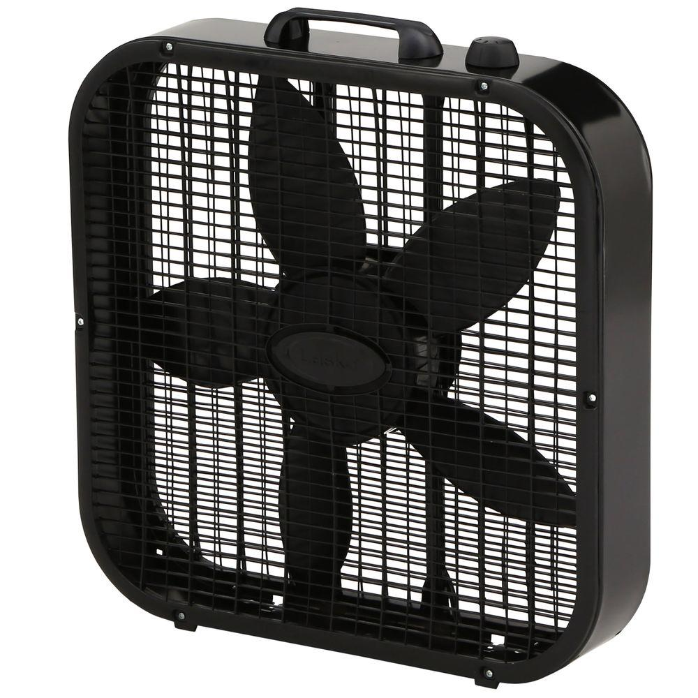 Home Depot Fans: Lasko 20 In. Box Fan-B20401
