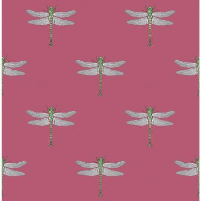 Catalina Dragonfly Paper Strippable Roll (Covers 56 sq. ft.)