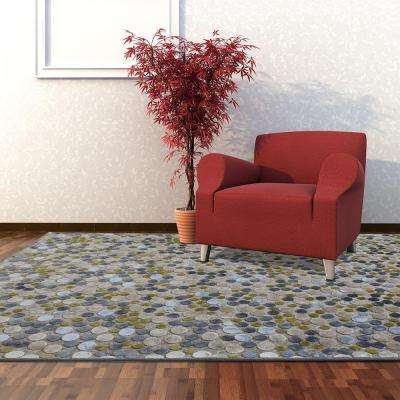 Effervescence Steel 8 ft. x 10 ft. Area Rug