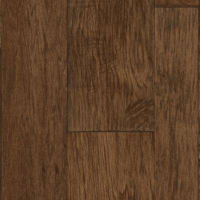 Multi-Width Hickory Plank Natural 13.2 ft. Wide x Your Choice Length Residential Vinyl Sheet Flooring