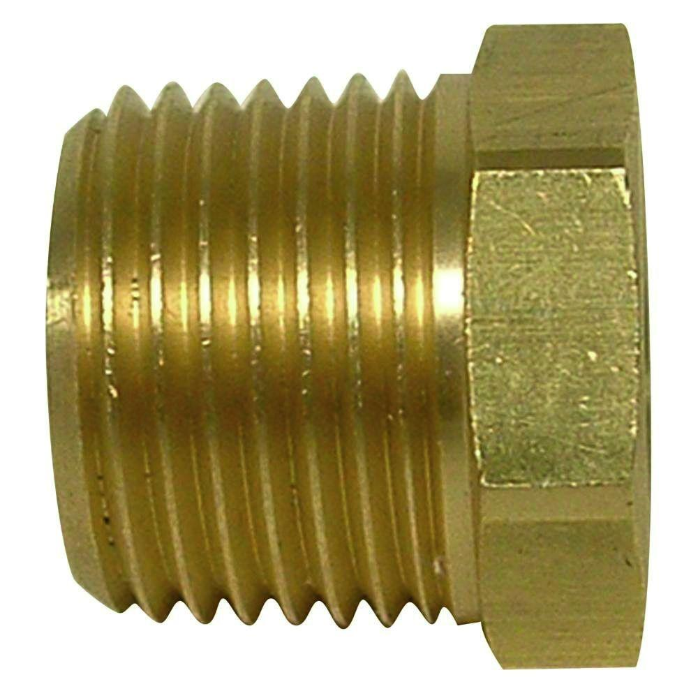 1/2 in. x 3/8 in. Lead-Free Cast Red Brass MIP x