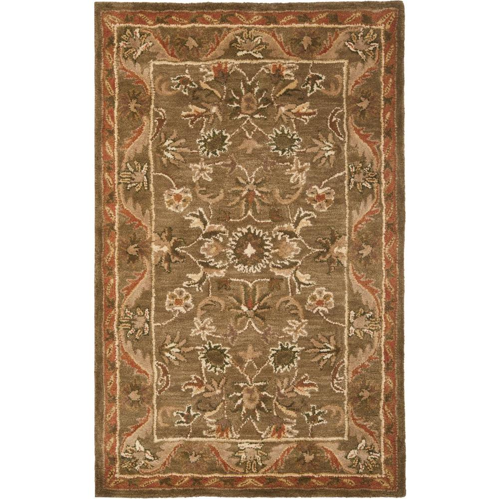Safavieh Antiquity Olive/Gold 3 ft. x 5 ft. Area Rug