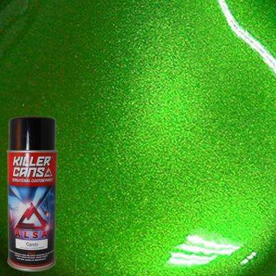 12 oz. Candy Lime Green Killer Cans Spray Paint