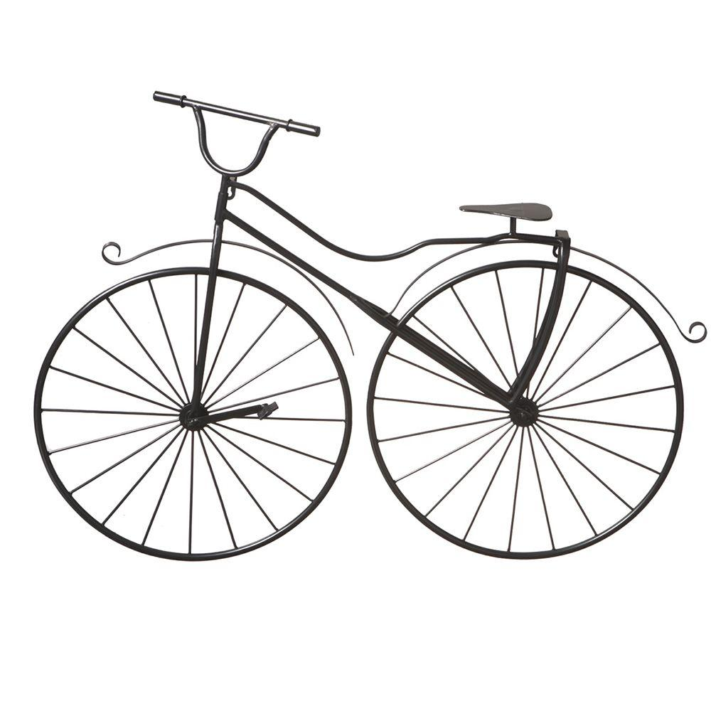 Filament Design Sundry 24.5 in. x 33.5 in. Bicycle Transitional Wall Art-DISCONTINUED