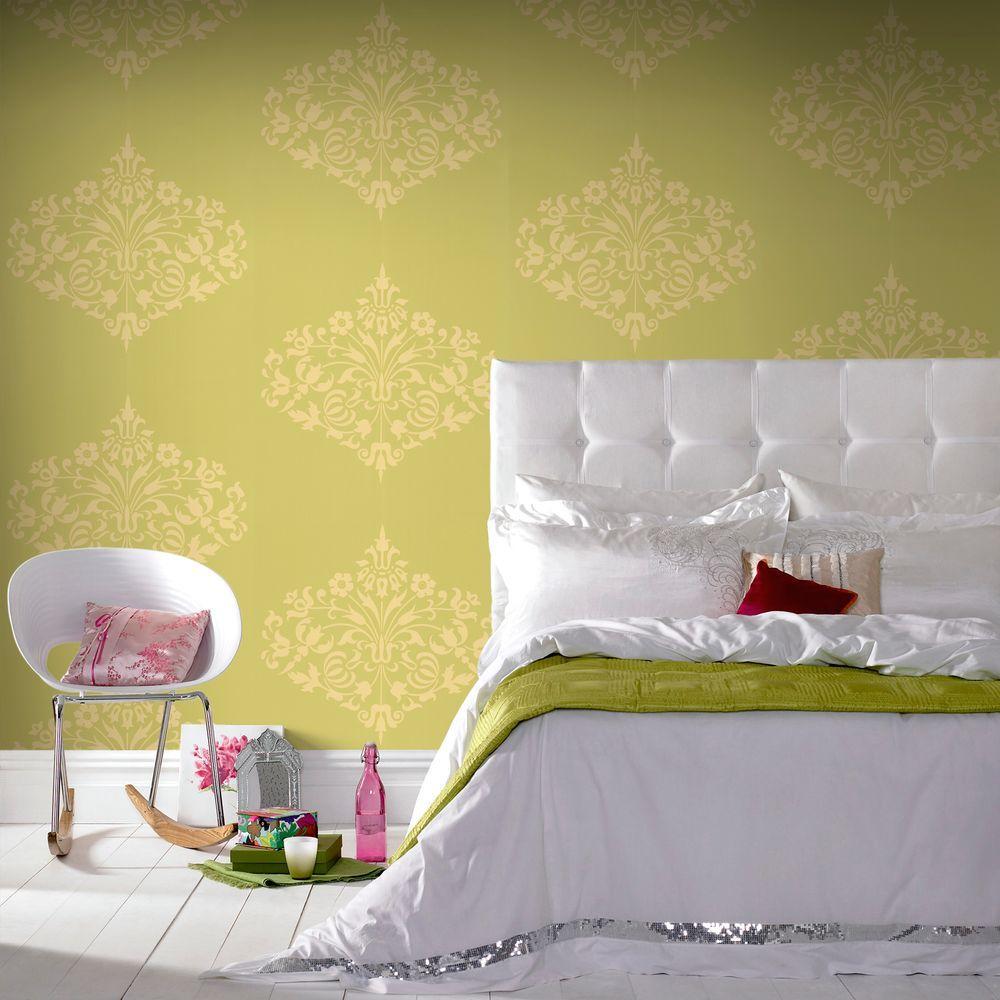Graham u0026 Brown Fountain Yellow Wallpaper-50-128 - The Home ...