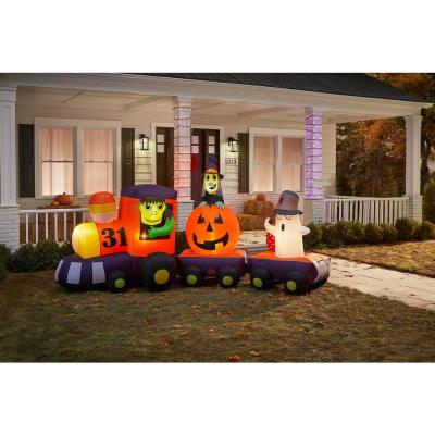 5.5 ft. Train Halloween Airblown Inflatable