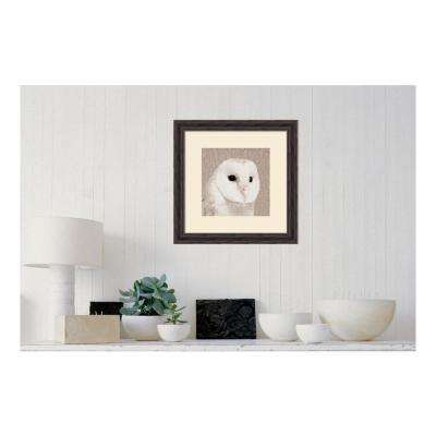 21.38 in. W x 21.38 in. H Feathered II by PI Studio Printed Framed Wall Art