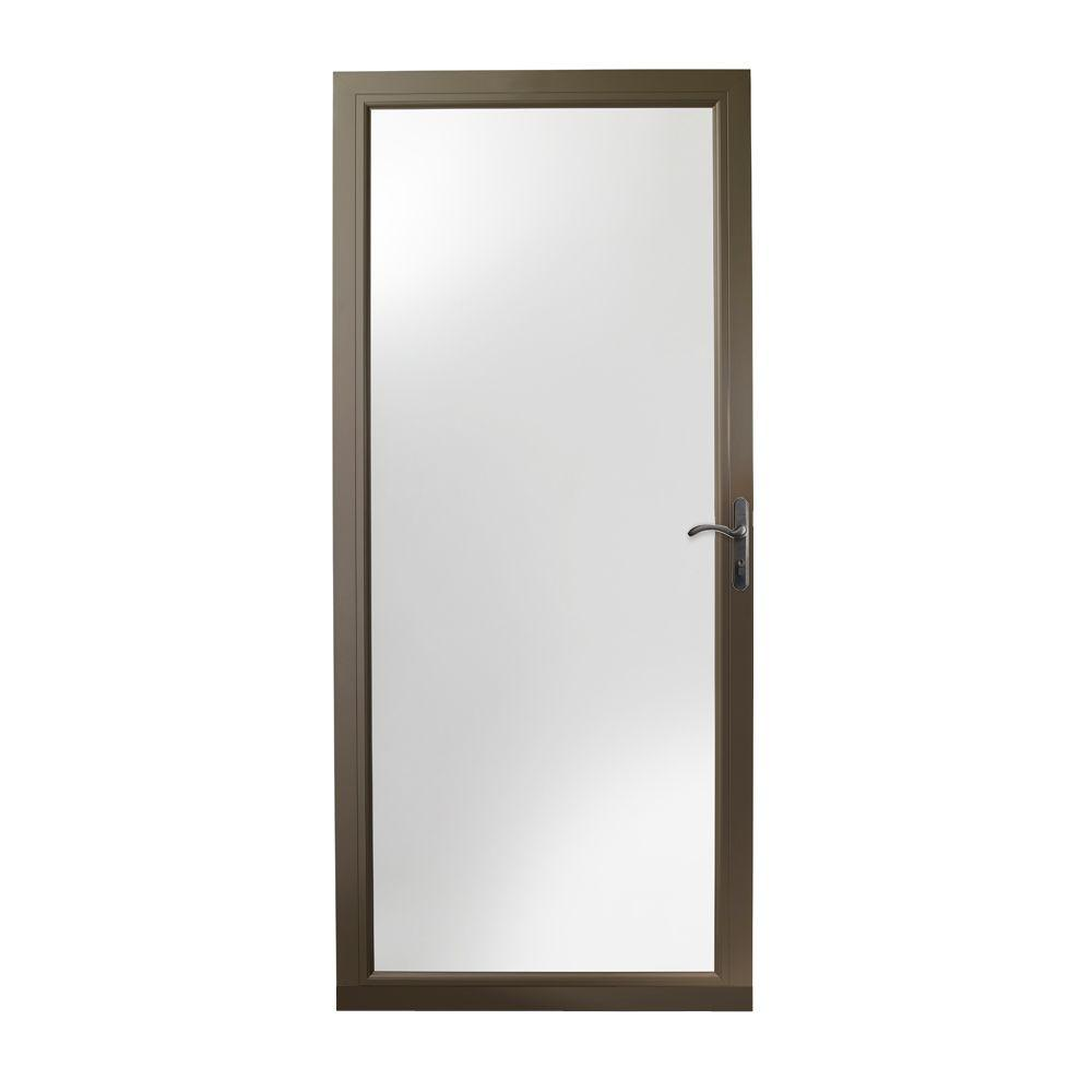 Andersen 36 in. x 80 in. 3000 Series Terratone Right-Hand Fullview Easy  sc 1 st  The Home Depot : storms doors - pezcame.com