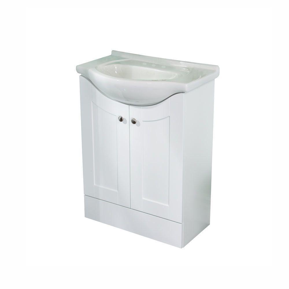 St Paul Kelly 26 In W X 18 D Bathroom Vanity