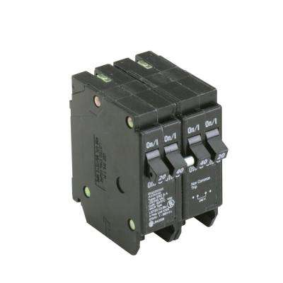BR 1-20 Amp 2 Pole and 1-40 Amp 2 Pole  BQ (Independent Trip) Quad Circuit Breaker
