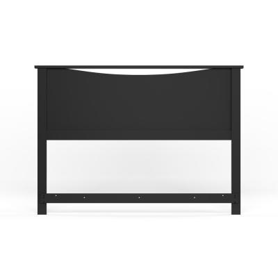 Step One Full/Queen-Size Headboard in Pure Black