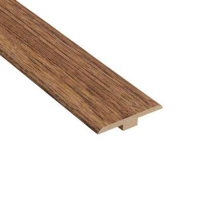 Authentic Walnut 1/4 in. Thick x 1-7/16 in. Wide x 94 in. Length Laminate T-Molding