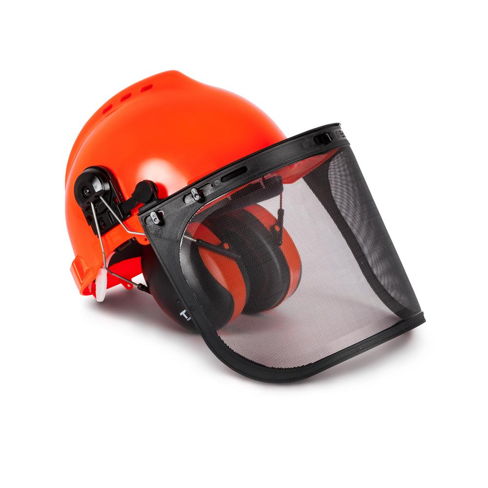 Forestry Safety Helmet and Hearing Protection System, Ora...