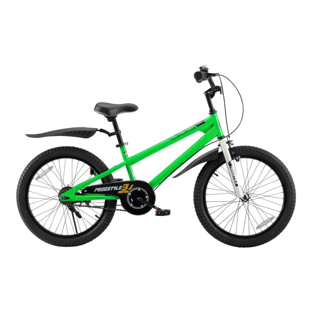 BMX Freestyle Boy's and Girl's Bike 20 in. wheels in Green
