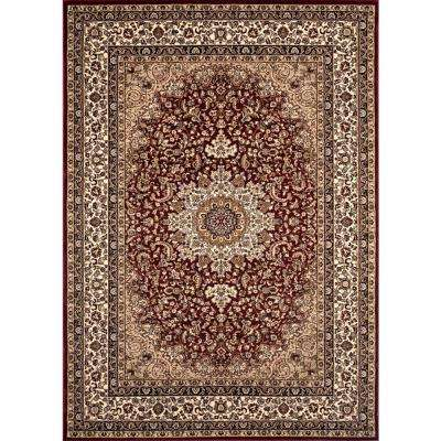 Manor House Red Ardebil 5 ft. x 7 ft. Area Rug