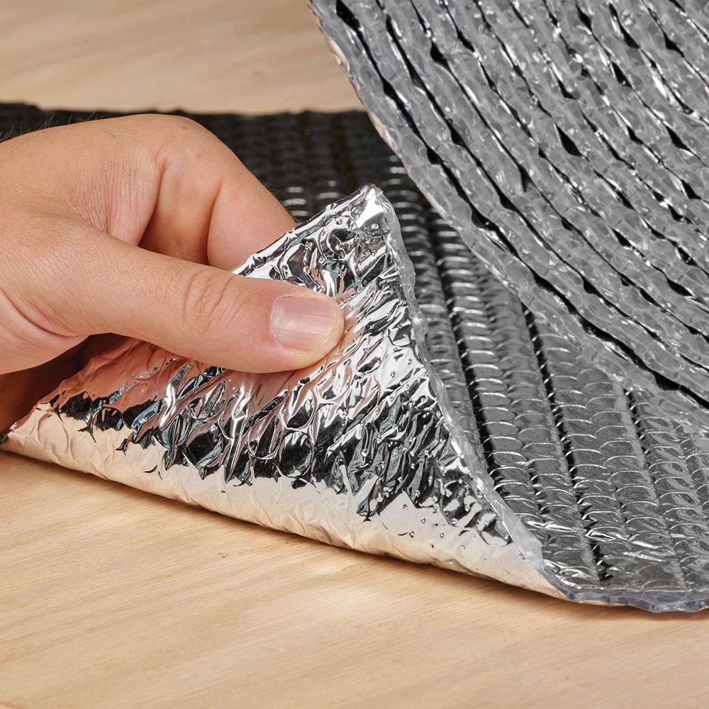 Sound Deadener /& Heat Barrier Mat Car Insulation 64 Sqft Automotive Lightweight Thermal Insulation 4 x 16 Roll